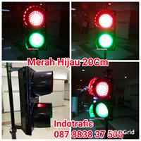 Lampu LED Traffic Light Merah Hijau