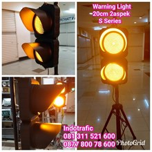 Lampu LED Flashing Warning Light 20cm