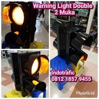 Lampu LED Warning 2Aspek 2 Sisi
