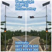 Lampu LED Flashing Light Lithium Battery