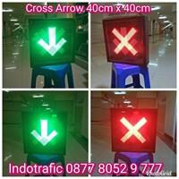 Kap Lampu LED Cross Arrow 40cm