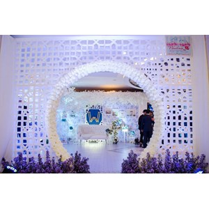 Dekorasi Pernikahan Grand Aston Medan 005 By PT. Paulina Florist