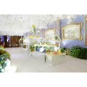 Dekorasi Pernikahan JW Mariot Medan By PT. Paulina Florist