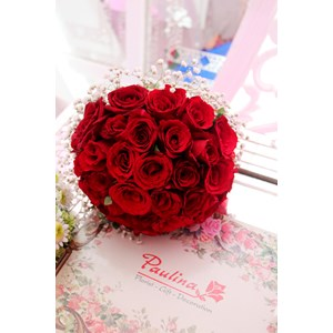 Wedding Bouquet By CV. Paulina Florist