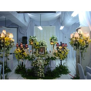 Dekor Ruangan Duka Cita By CV. Paulina Florist