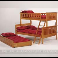 Jual Tempat Tidur Anak Model Tingkat Minimalis KBDA 008