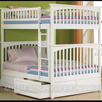 Jual Tempat Tidur Anak Model Tingkat Minimalis KBDA 004