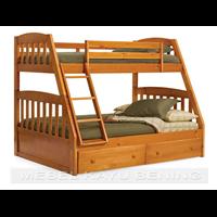 Jual Tempat Tidur Anak Model Tingkat Minimalis KBDA 003