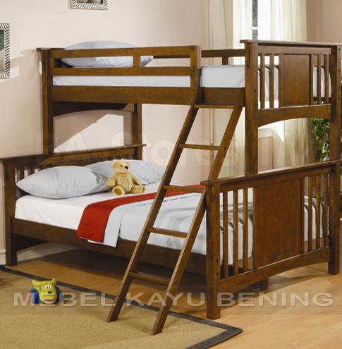 jual tempat tidur anak model tingkat minimalis kbda 005