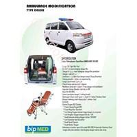 Karoseri Modifikasi Ambulan Tipe Deluxe Murah