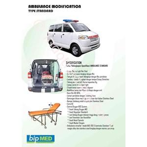 Karoseri Ambulance Tipe Standard Murah