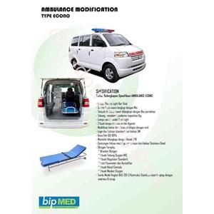 Karoseri Ambulance Tipe Econo Murah