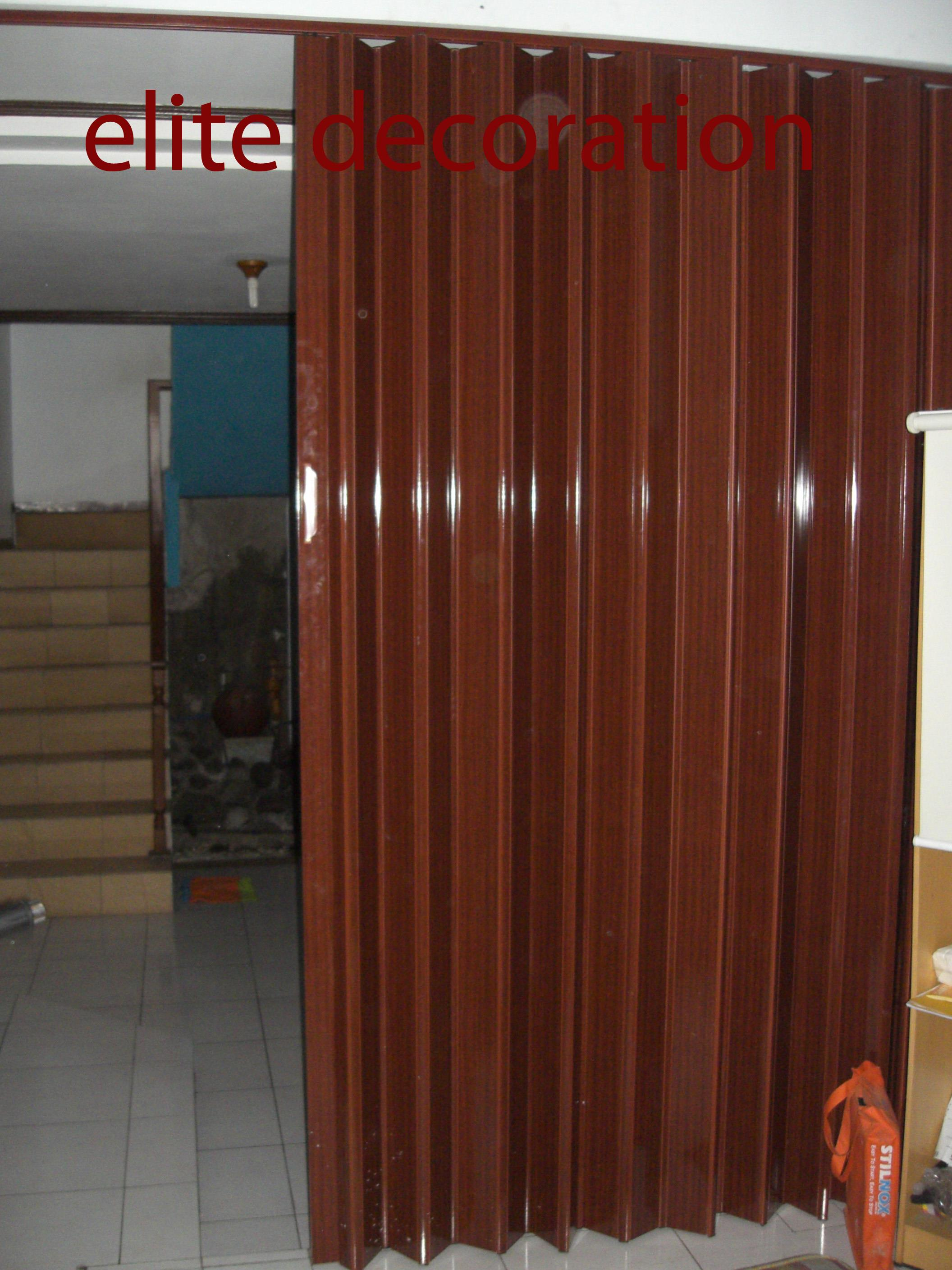 Sell Folding Door PVC from Indonesia by Toko Elite Decoration ...