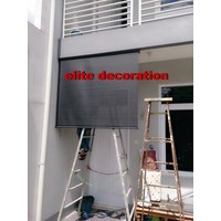 Jual Roller Blind Outdoor