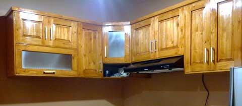 Jual Kitchen Set Kayu Jati Belanda Harga Murah Bekasi oleh