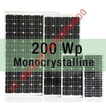 Panel Surya 200 WP Monocrystalline