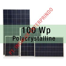 panel surya 100 Wp Polycrystalline