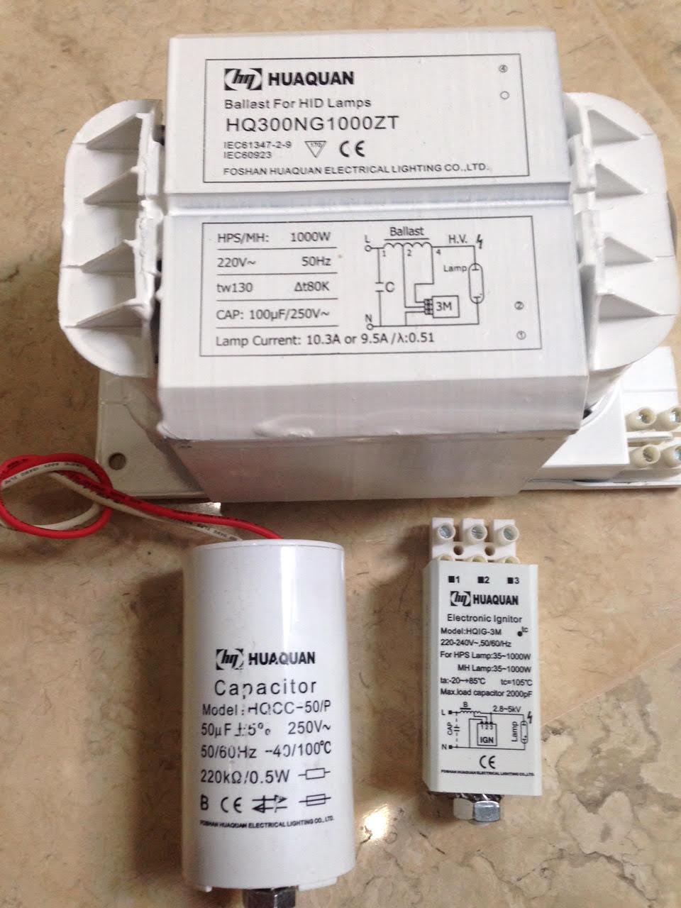 Jual Ballast SHP 1000 Type HQ300NG 1000ZT 220V 230V 50Hz