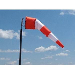 Wind Sock Ukuran 1x4.5 meter