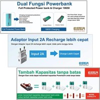 Distributor Powerbank 6200Mah 3