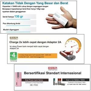 Powerbank 6200Mah