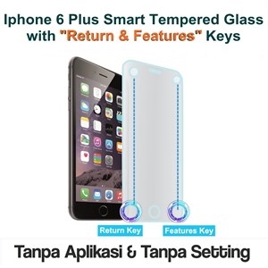 9H Smart Tempered Glass Iphone 6 Plus Screen Protector Anti Gores