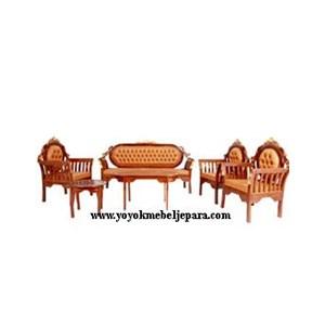 Modern teak Chair furniture Jepara Carving YMJ-MM-160