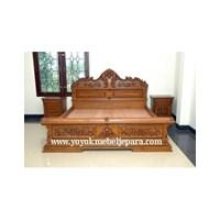 Tempat Tidur Ukir Jepara Ymj-Mm-150