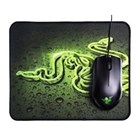 Mouse Komputer Razer Abyssus 1800 Mouse Free Goliathus Speed Gaming Mousepad 1