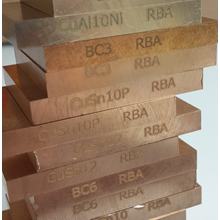RBA Bronze Alloys