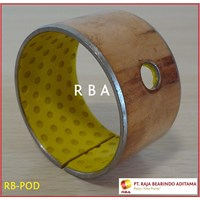 wrapped composite sliding bearing 1