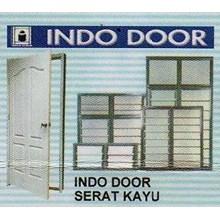 Pintu Serat Kayu