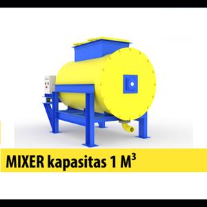 Mixer Kapasitas 1 M Kubik