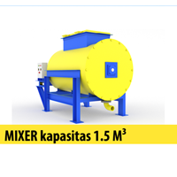 Mixer Kapasitas 1.5 M Kubik