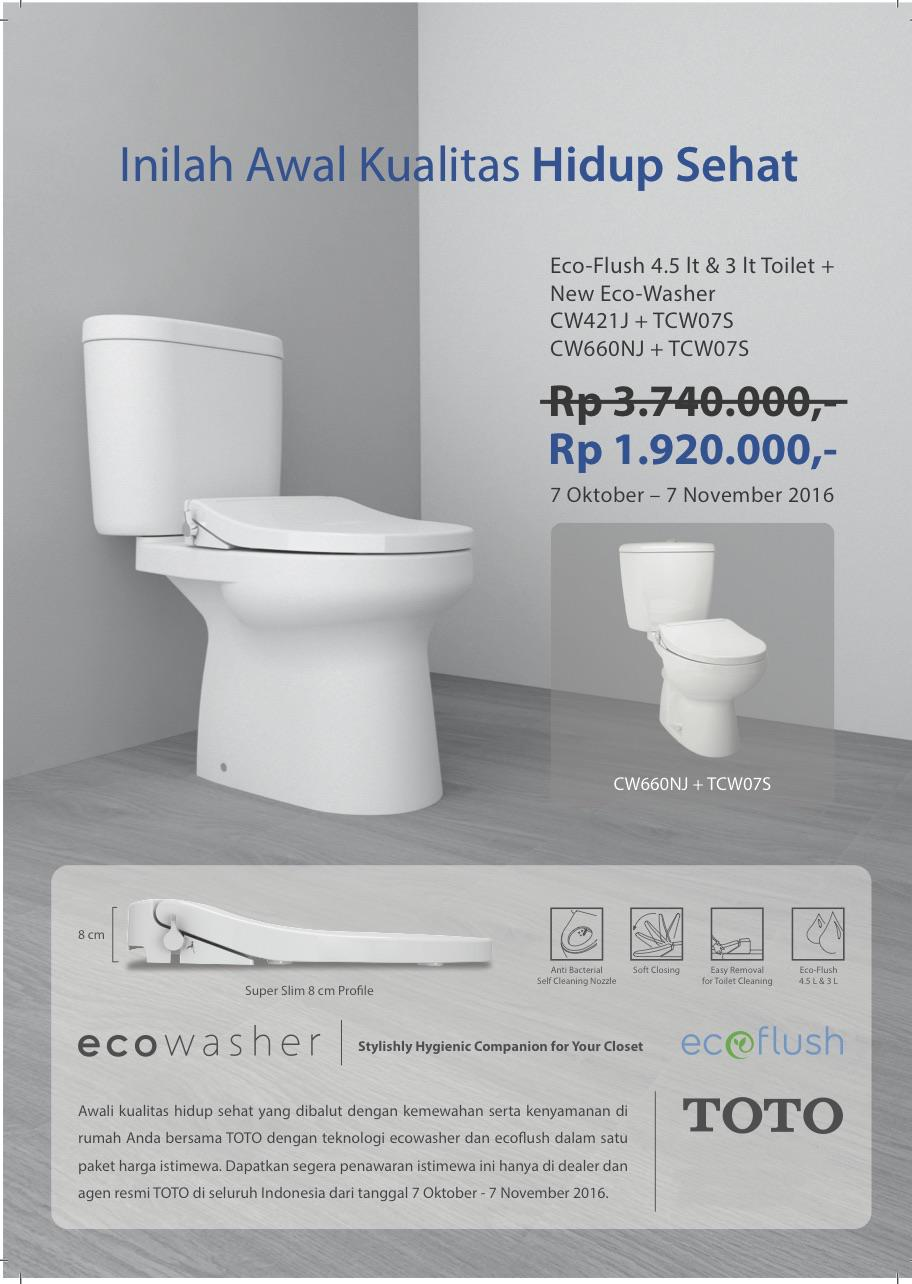 Sell Toto Cw660nj 1.920.000 Promo Price Of Just This Month Alone ...