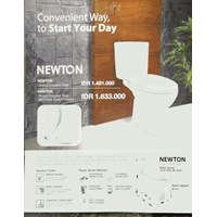 Closet American Standard Newton Ccst With Razor Smart Washer