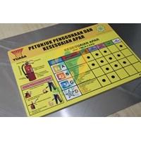 Jual Safety Sign & Rambu K3 - Sign APAR ( Alat Pemadam Api Ringan) 2