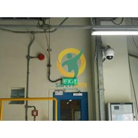 Distributor Safety Sign & Rambu K3 - Exit Emergency Dan Kondisi Darurat - Glow In The Dark - Standar ISO  3