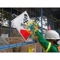 Distributor Safety Sign & Rambu K3 - Label Bahan Beracun Dan Berbahaya (B3)  3
