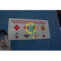 Beli Safety Sign & Rambu K3 - Label Bahan Beracun Dan Berbahaya (B3)  4