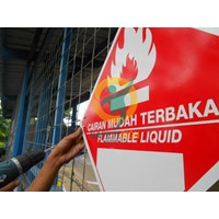 Safety Sign & Rambu K3 - Label Bahan Beracun Dan Berbahaya (B3)  Murah 5