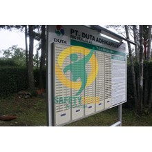 Safety Sign & Rambu K3 - T Card Board