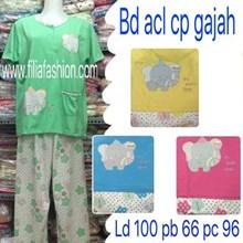 Stln anneclaire cln pjg lengan pndek ( cp ) gajah