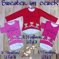 atasan baju anak sweater panjang KK