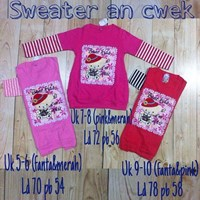 Atasan baju anak  sweater KK