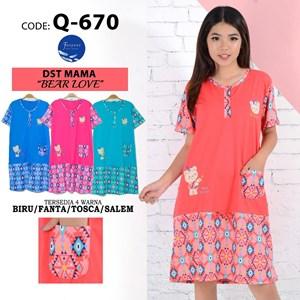 Baju Tidur Dress Forever mz Q 670