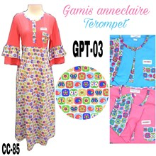 Gamis anneclaire terompet GPT-03