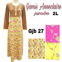 Jual Gamis anneclaire jumbo GJB27