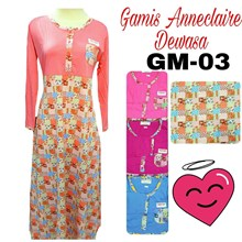 Gamis anneclaire Gm03