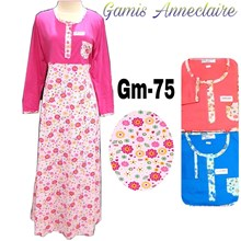 Gamis anneclaire GM-75